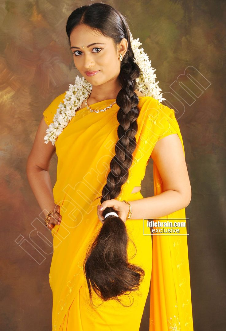 indian long hair braid