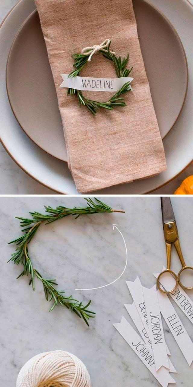 Detalles para una mesa de Navidad   DECORA TU ALMA - Blog de decoración, interiorismo, niños, trucos, diseño, arte...