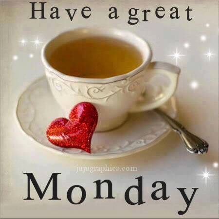 Have a great MONDAY ~                                                                                                                                                                                 More