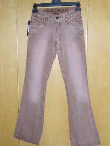 Jeans marroni nuovi taglia 25