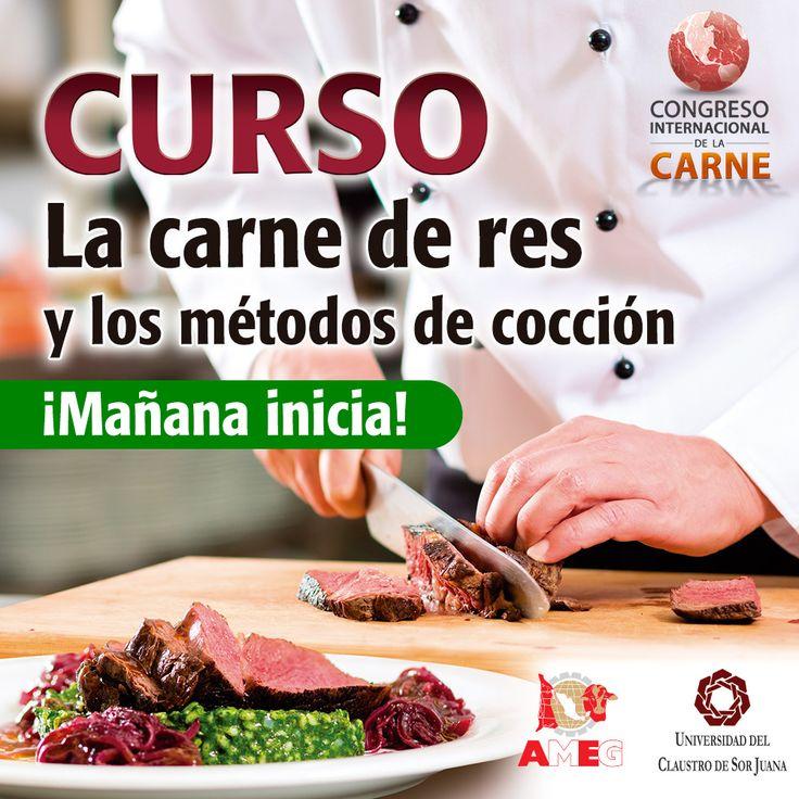 Mañana inicia el curso: La carne de res y los métodos de cocción