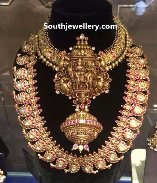 heavy temple jewellery
