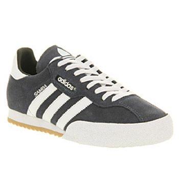 Adidas Samba Super Navy White