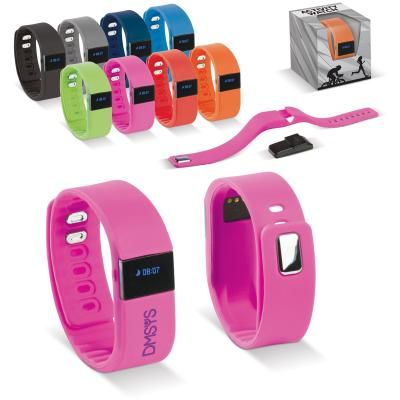 Image of Promotional Activity Tracker. Sports Fitness Tracker With Wireless Connection