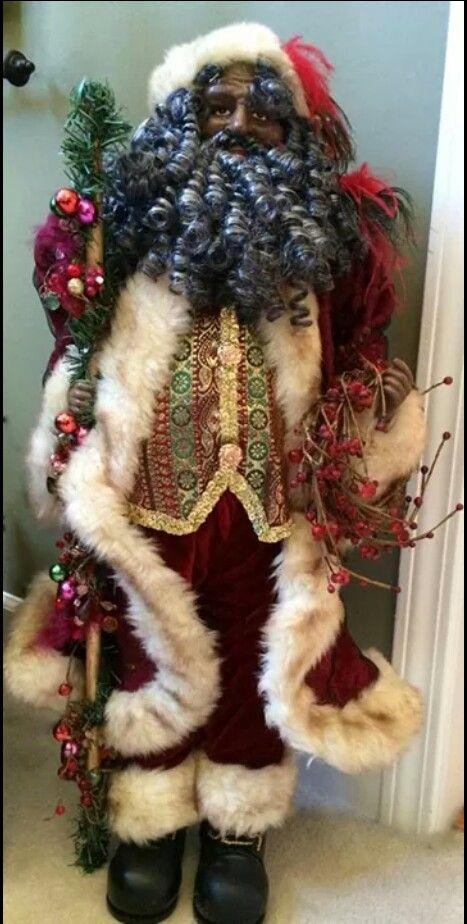 Best images about black santa collectors on pinterest