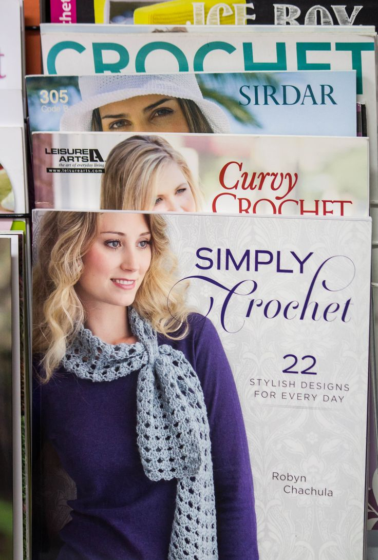 Simply Crochet available in store.