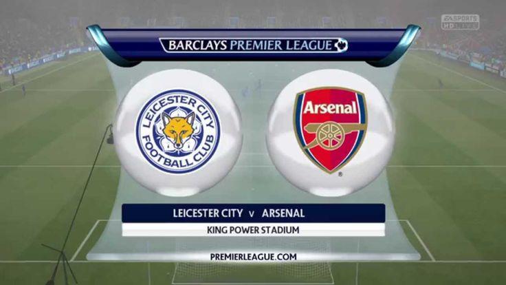 Highlight Pertandingan Leicester 0 - 0 Arsenal ( Premier League Pekan 2 )