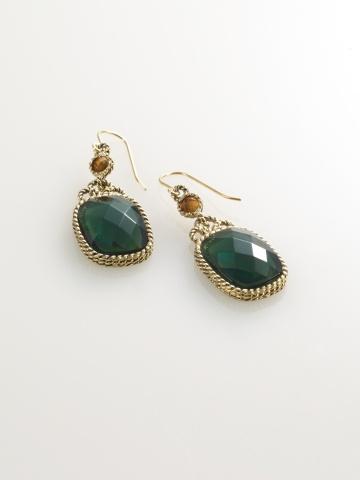 Jade Drop Earring - Ralph Lauren ($32.00)
