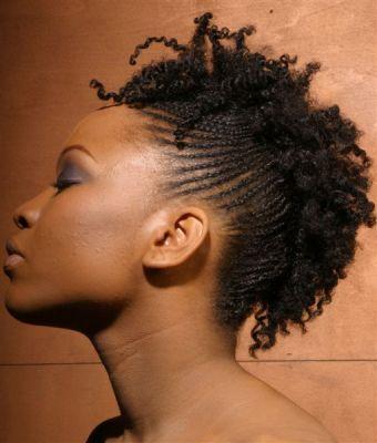 Natural Hair Cornrow Styles