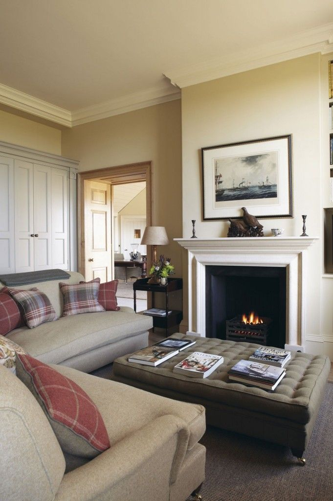 14 best images about white tie 2002 paint farrow and ball on pinterest - Relaxing living room decorating ideas ...