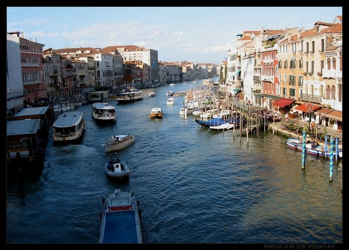 Venice Picture: Grand Canal by Peter Visontay