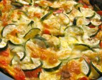 Baked Zucchini and Tomato with Mozzarella (South Beach Phase 1 Recipe) | Diet Plan 101