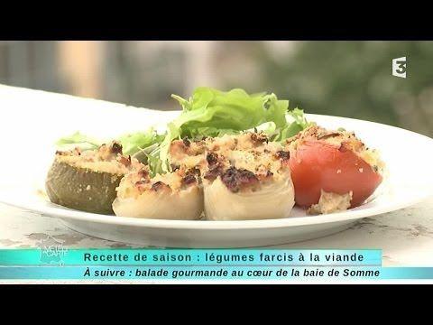 Légumes farcis à la viande de Nice recette familiale Météo à la carte - France 3