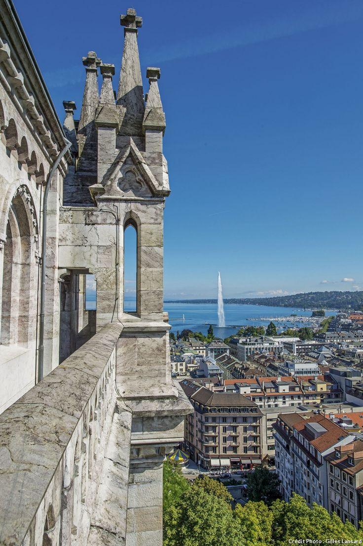 La cathédrale Saint-Pierre à Genève