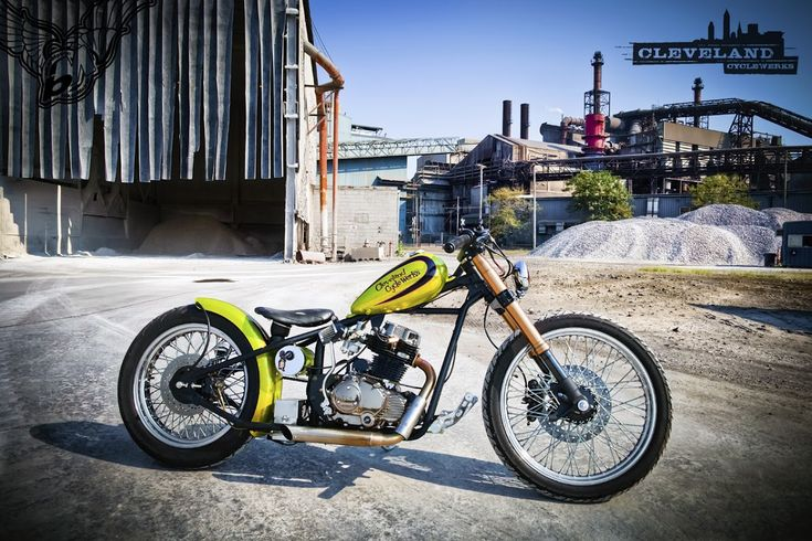 250cc thumper bobber | cleveland cyclewerks
