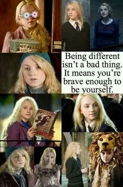 Luna Lovegood makes me feel better about being me...                                                                                                                                                                                 Mehr