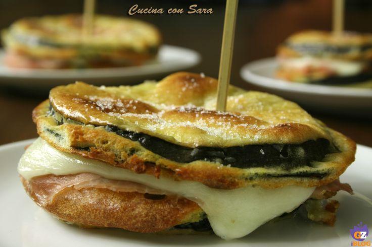 Cordon bleu di melanzane - ricetta al forno