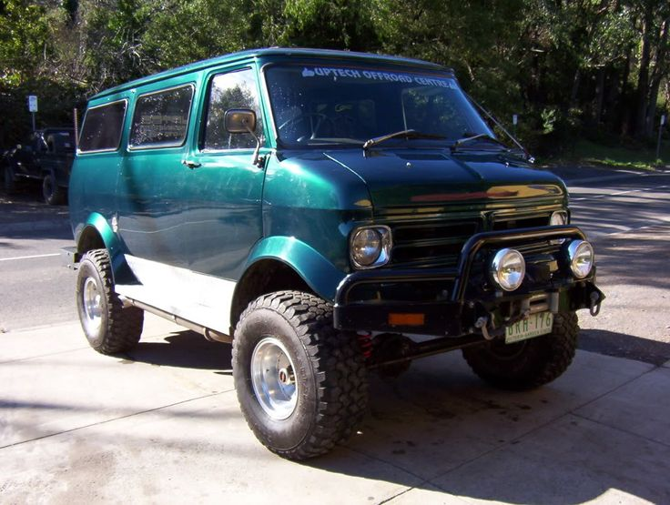 Bedford CF van one-off 4x4. And why not?