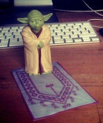 @BonsaiSky: Coming, #Ramadan is.: Muslim, Jedi Aleminin, Funny Shit, Master Yoda, Bütün Jedi, Funny Stuff, Imam Yoda, Islamic Ish Things