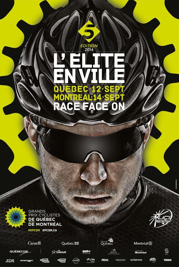 Branding Grands Prix Cyclistes 2014 by 8 Bis Agency, via Behance