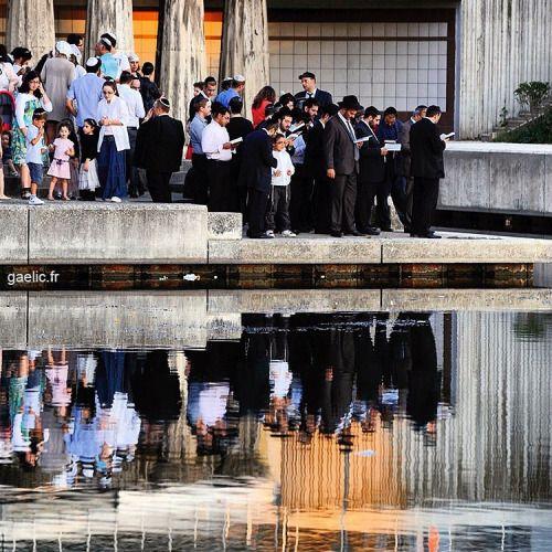 Shana Tova 5777 everyone #roshhashanah Gathering near water to pray for #jewishnewyear #france #creteil #report #documentary #religion #happynewyear (à Pointe du Lac)