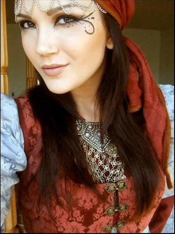 .eyes - great for halloween with my Esmerelda costume