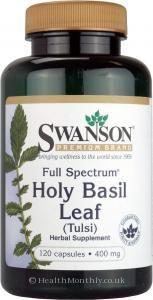 Swanson Full Spectrum Holy Basil Leaf (Tulsi)