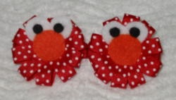 Elmo :): Little Girls, 2Nd Birthday Parties, It Hairbows, Hair Ribbons, Elmo Hairbows, Hair Bows And Hats, Baby Shower Food, Kids Clothing, Hair Clip