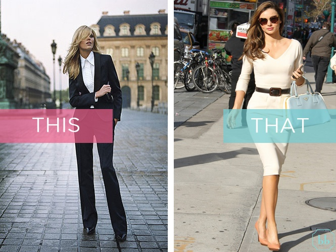 Speaking of work, how you generally like to dress for it? Masculine or feminine? This or that?    #bellabox #question #thisorthat #fashion