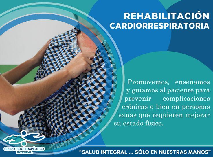 La rehabilitación cardiorrespiratoria es la suma de intervenciones que realizan las diferentes profesiones de salud para influir favorablemente en las enfermedades respiratorias y cardiovasculares.
