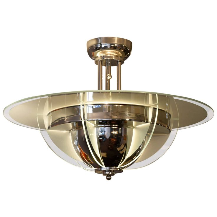 477 best art deco ceiling lights images on pinterest ceiling 1930s art deco chandelier aloadofball Gallery