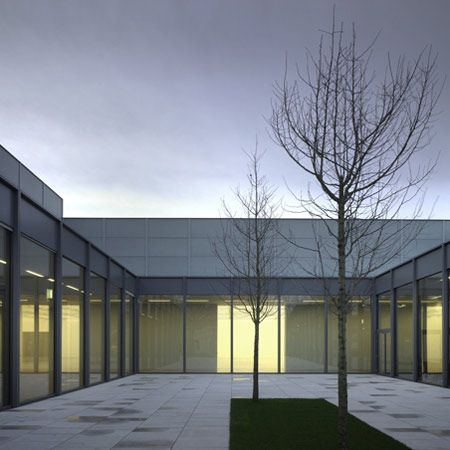 Museum Folkwang by David Chipperfield Architects, photographed by Christian Richters.
