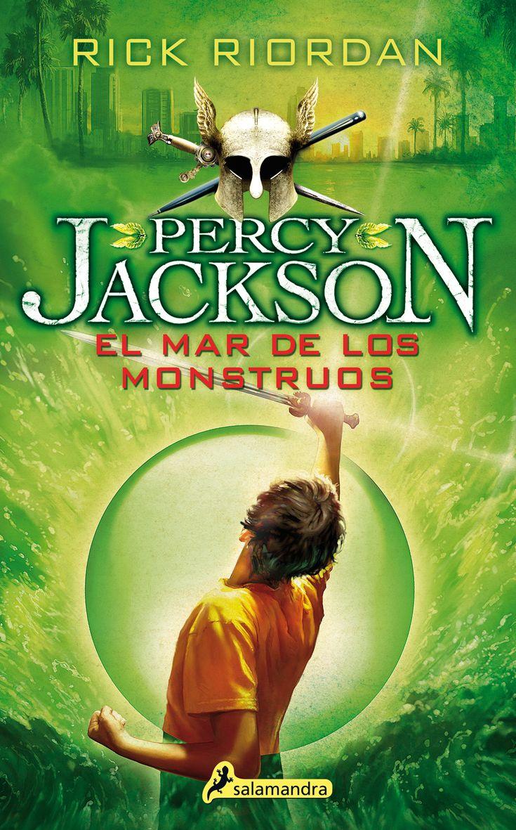 el mar de los monstruos (percy jackson y los dioses del olimpo ii )-rick riordan-9788498386271