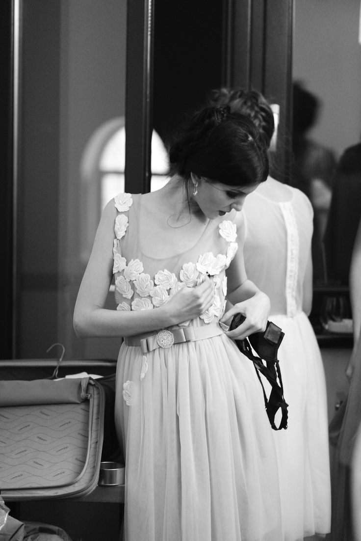 Backstage from Fashion Cocktail IV Edition Fall Affair 2014 | Oana Nutu Bridal Collection