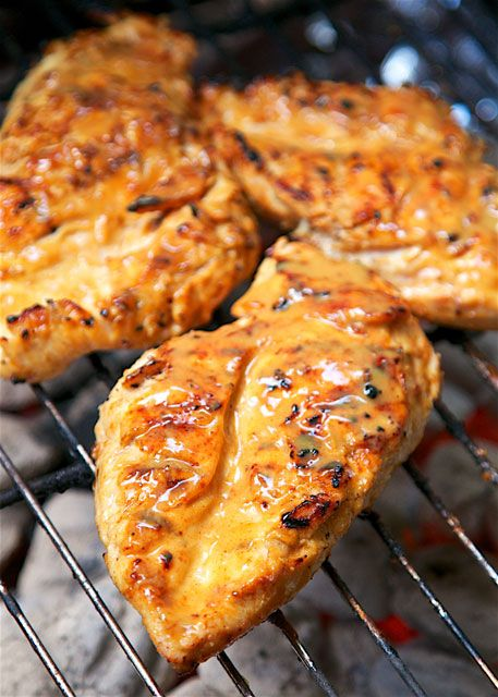 Maple Mustard Grilled ChickenReally nice recipes. Every  Mein Blog: Alles rund um die Themen Genuss & Geschmack  Kochen Backen Braten Vorspeisen Hauptgerichte und Desserts # Hashtag