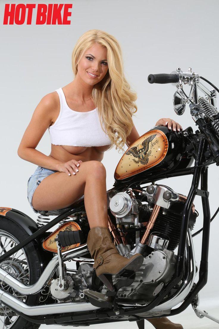 Hot Bike Girls Photo Gallery  Abby Parece  Hot Bikes