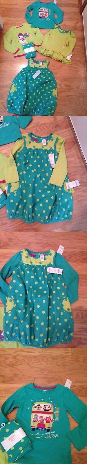 Outfits and Sets 147211: Nwt Gymboree Color Happy Lot Shirts Dress Leggings Teal Blue Lime Green 5T -> BUY IT NOW ONLY: $59.95 on eBay!