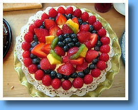 Crostata di Frutta #fruits #cake