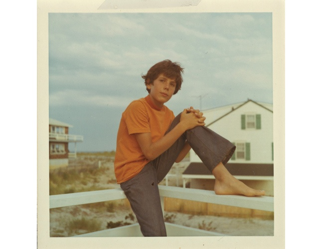Anthony Bourdain on Long Beach Island, New Jersey 1969