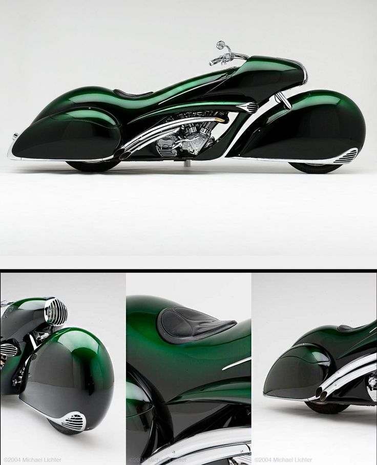Arlen Ness / Smoothness / classic motorcycle design