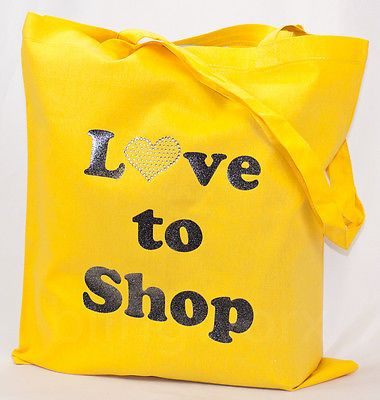 Born to Shop, Love to Shop, Shopper Mum, Supper Shopper, bag, tote, shoulder bag