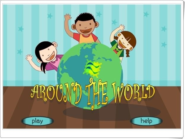 """""""Around the world"""" (Juego de Multiplicación de Primaria)"""