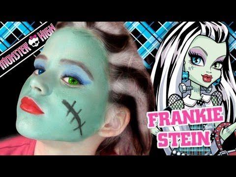 Maquiagem Halloween - Monster High