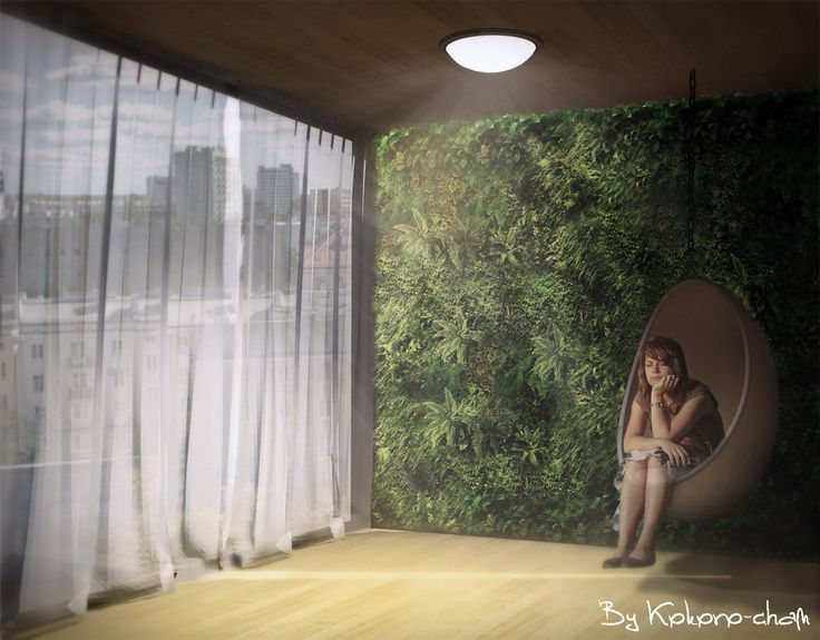 Green Wall by Kokoro-Architecture