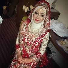 Beautiful Hijabi bride :D