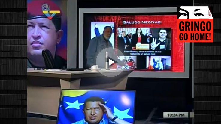 La TV pública de Maduro: Albert Rivera hace el saludo nazi y es el tataranieto de Franco
