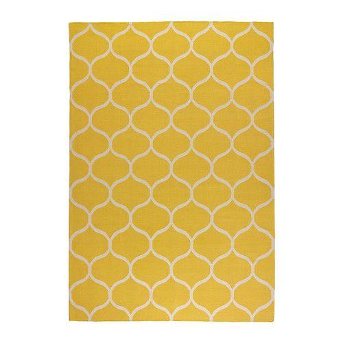 STOCKHOLM Teppich flach gewebt IKEA Mit seinem strapazierfähigen, schmutzabweisenden Wollflor gut geeignet fürs Wohnzimmer oder unter dem Esstisch.
