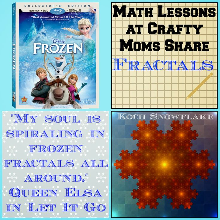 Frozen fractals a lesson on fractals to go with disney s frozen movie