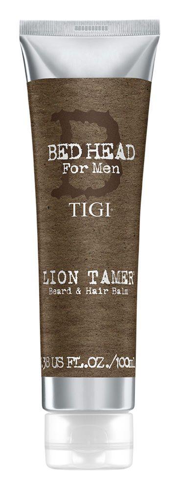TIGI Bed Head for men Lion Tamer Beard and Hair Balm 3.38 oz / 100 ml conditions #TIGI