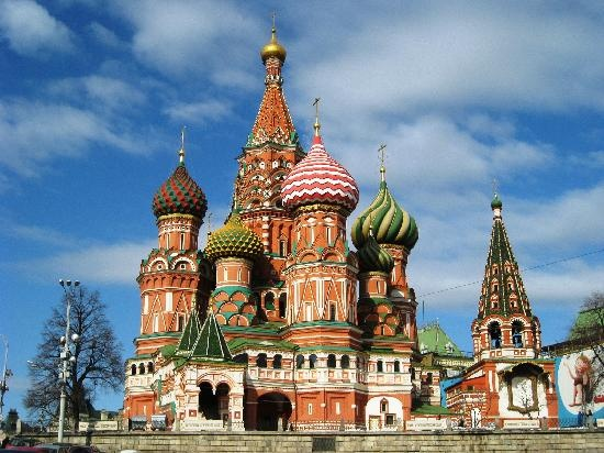 St. Basil's Cathedral (Pokrovsky Sobor): St. Basil's Cathedral, Russia